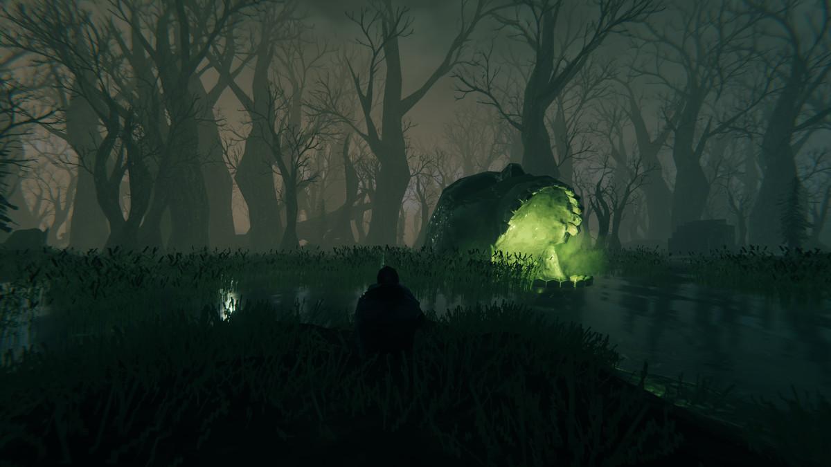 Valheim swamp biome Bonemass boss fight