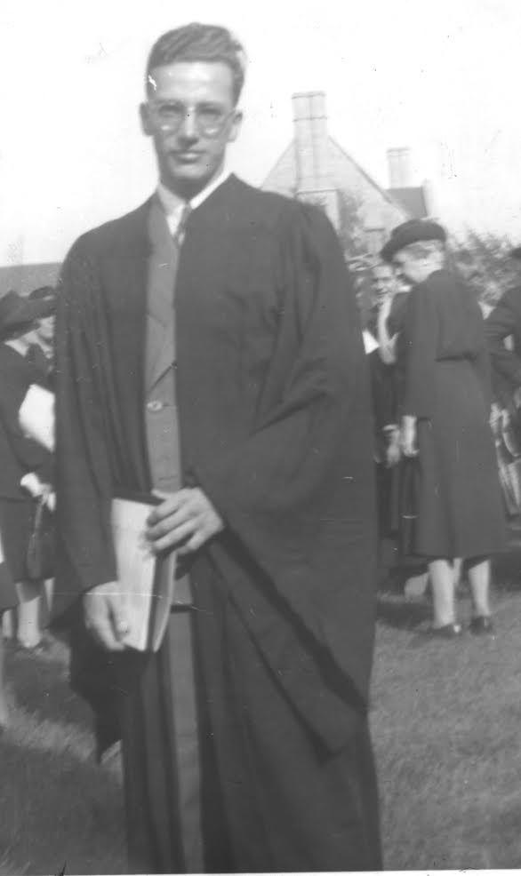 Myron Rush won a full scholarship to the University of Chicago.   Provided photo