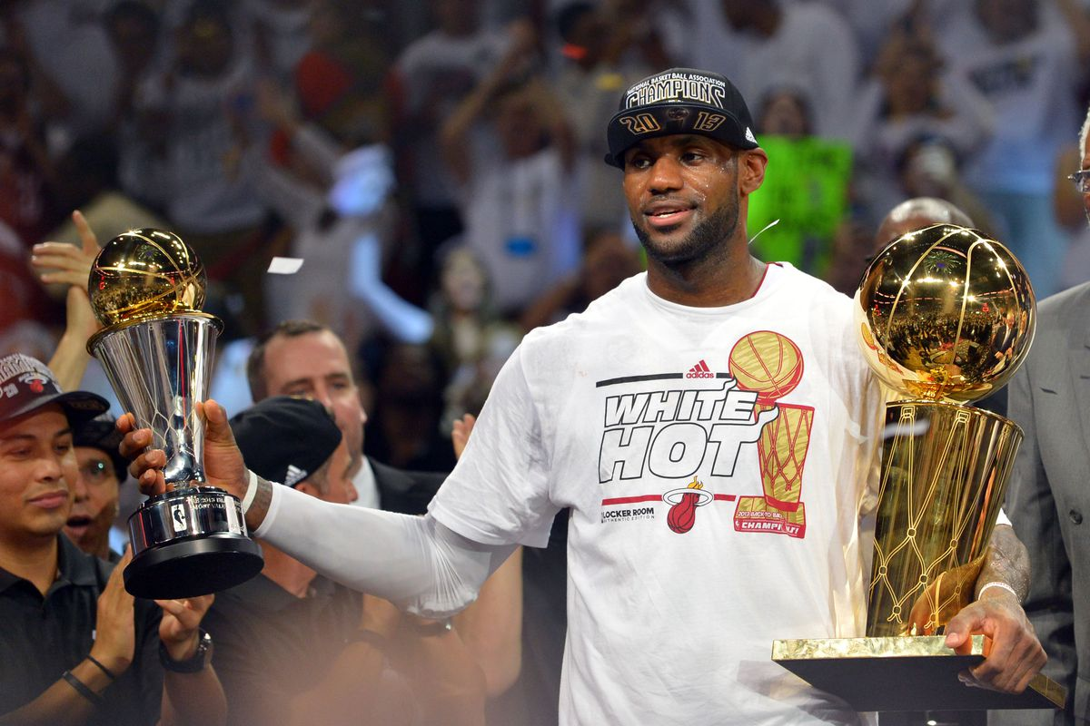 new styles aa77b 8d0e6 LeBron James shouts out Akron, his haters in Finals MVP speech