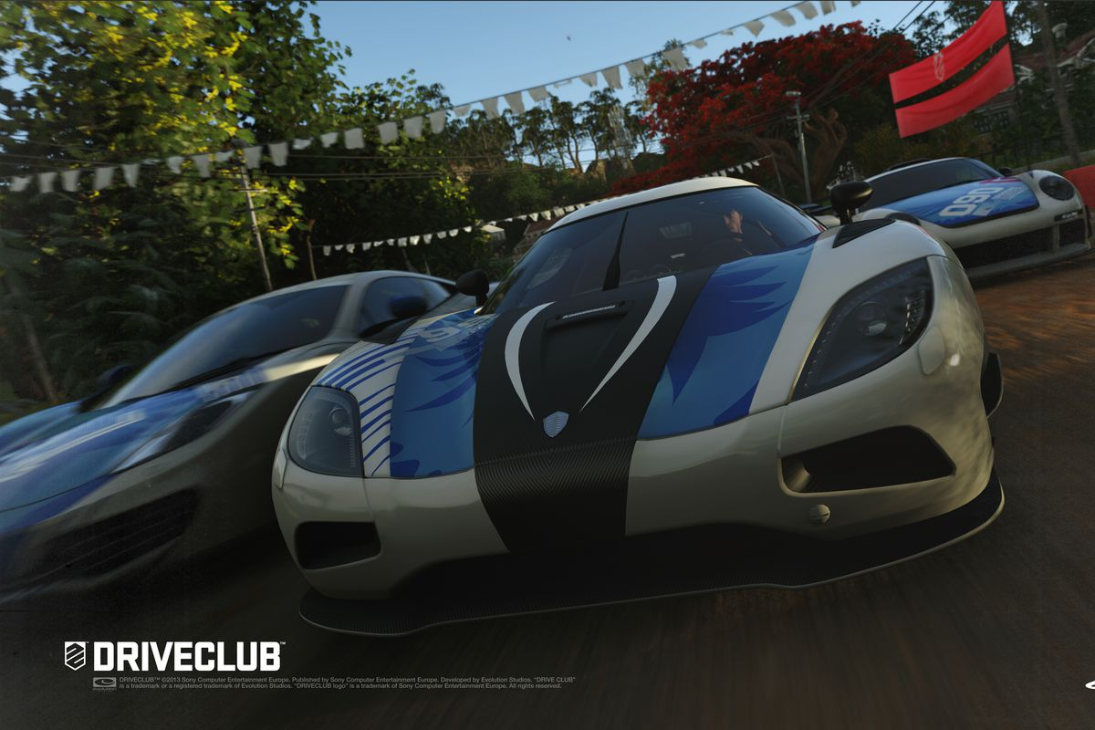 Driveclub' on PS4 turns drifting into a team effort - The Verge
