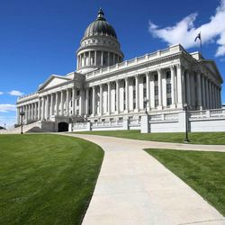 The state Capitol on Monday, Sept. 30, 2013, in Salt Lake City.