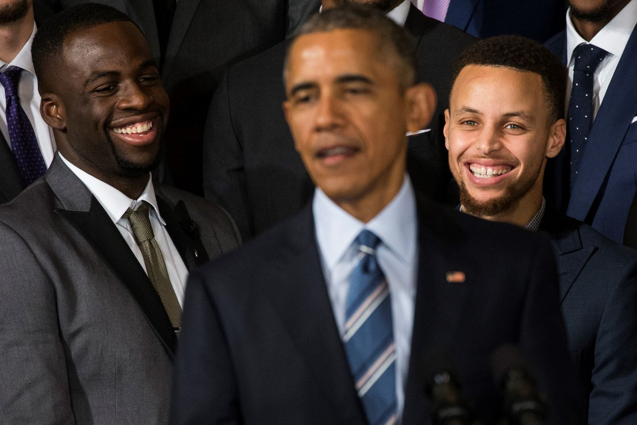 Golden State Warriors honored at White House