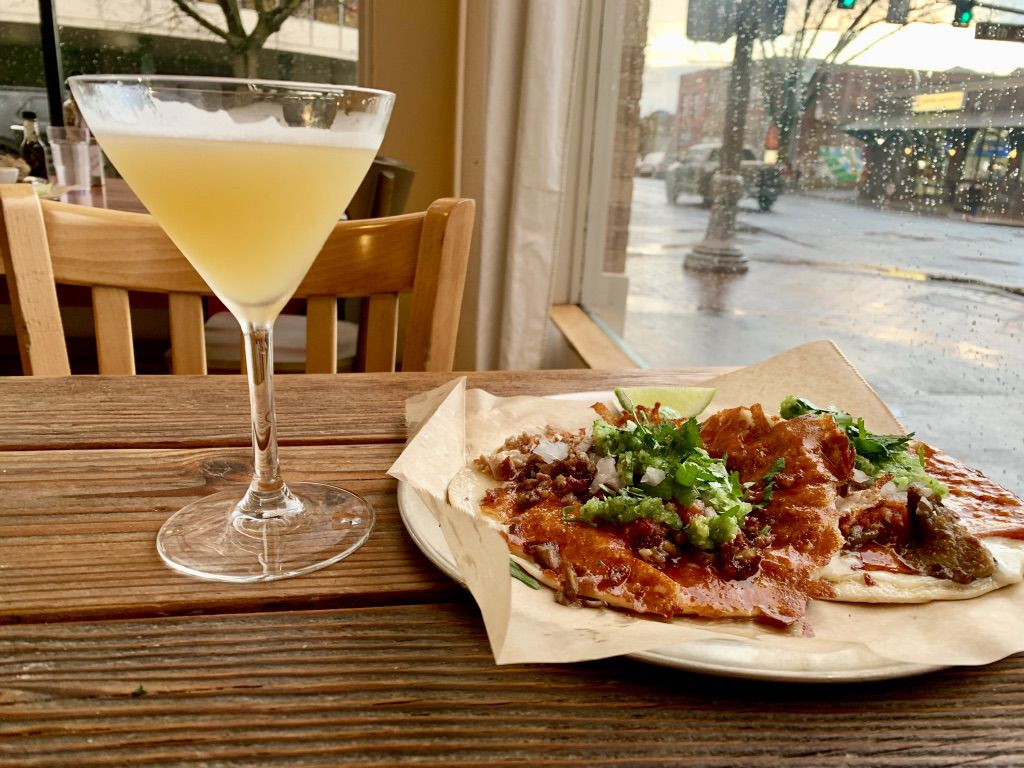 Gringas tacos and a Mexican Hemingway at Little Conejo