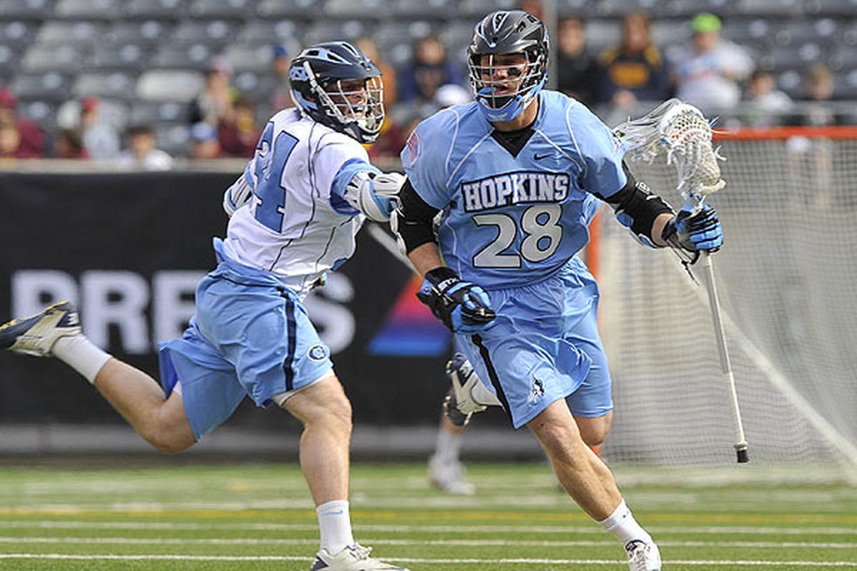 "Hopkins is on the move. Icky.  via <a href=""http://insidelacrosse.com/sites/default/files/kknopp_il/_JAM5961.jpg"">insidelacrosse.com</a>"