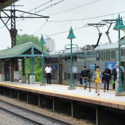 The Metra train station in Hyde Park. | Victor Hilitski/For the Sun-Times