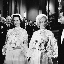 Gentlemen Prefer Blondes (1953): Marilyn's other white dress.