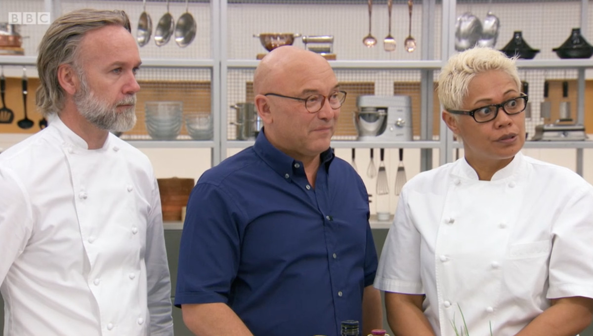 Marcus Wareing, Monica Galetti, and Gregg Wallace on Masterchef: The Professionals 2018