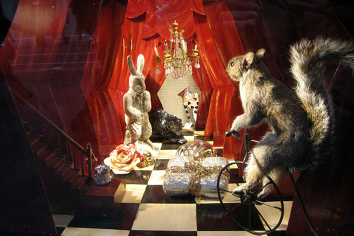 """We will never get sick of Bergdorf's holiday windows. Via <a href=""""http://www.flickr.com/photos/kstrahmx/4153082678/in/pool-rackedny"""">Kurt Strahm</a>/Racked Flickr Pool"""