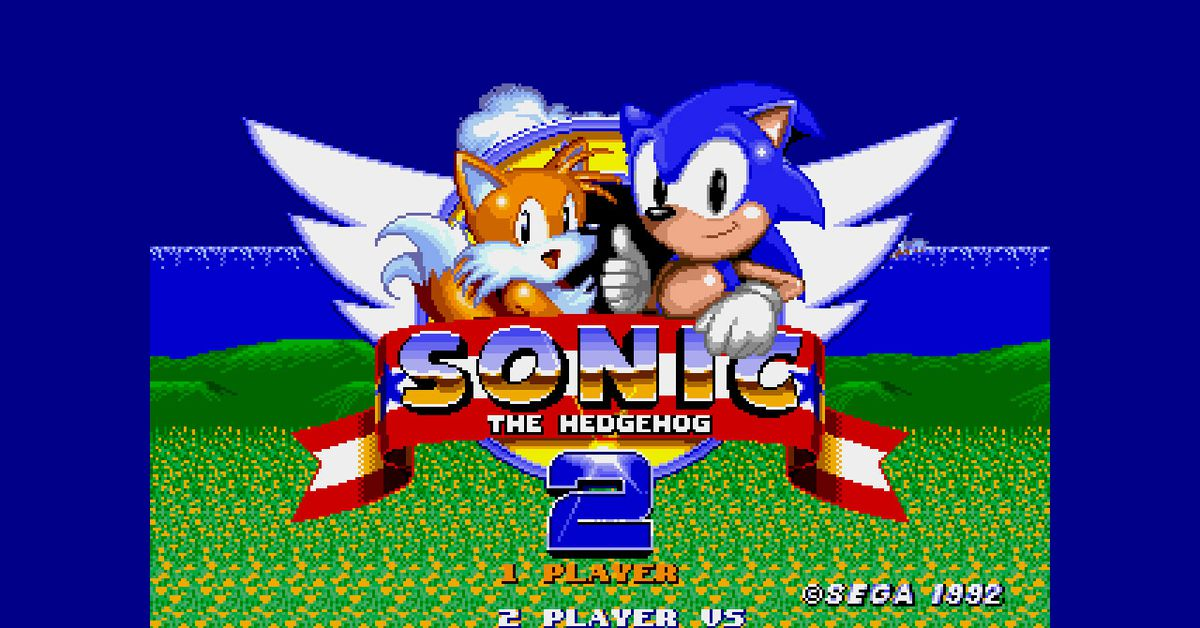 Sonic the Hedgehog 2 for Nintendo Switch adds new features to the classic game