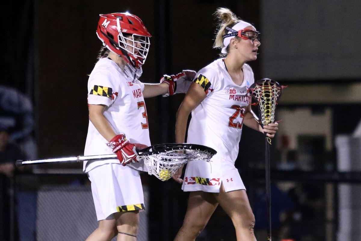 Maryland women's lacrosse Megan Taylor vs. Northwestern Final Four