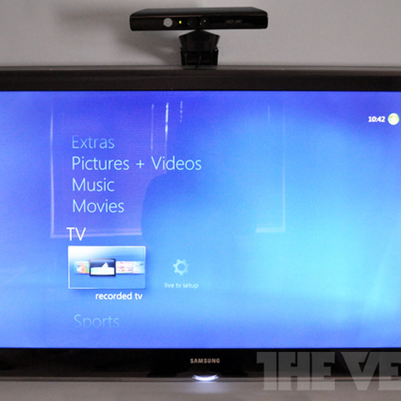 Kinect for Windows Media Center app adds gesture and voice