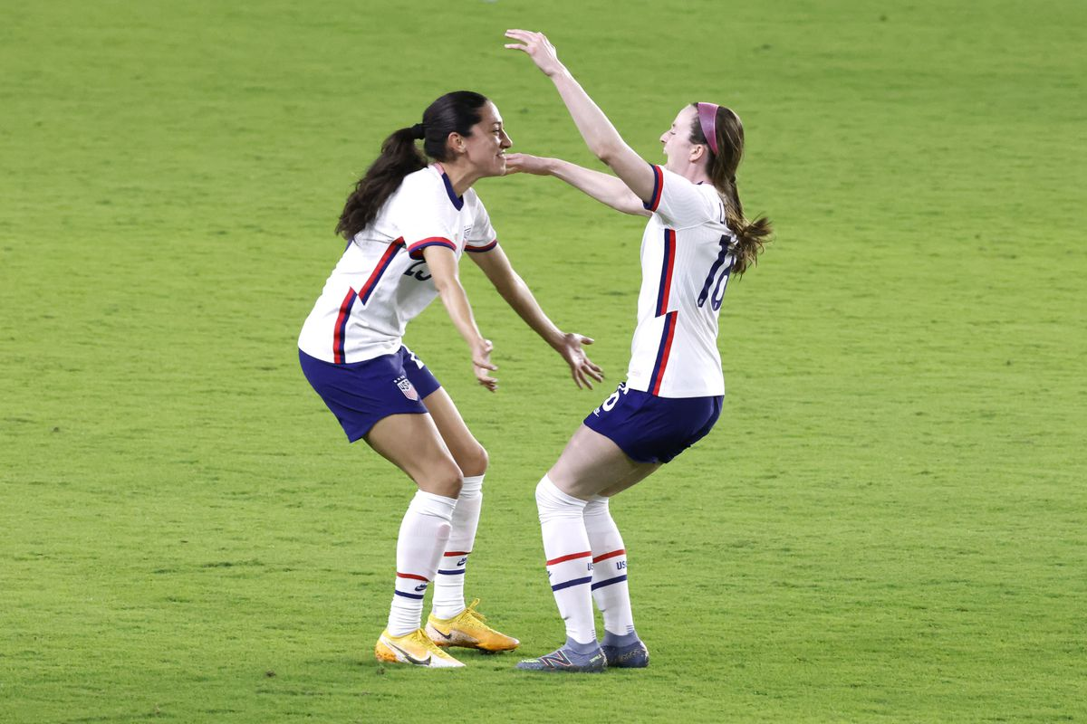 Soccer: She Believs Cup Women's Soccer-Canada at USA