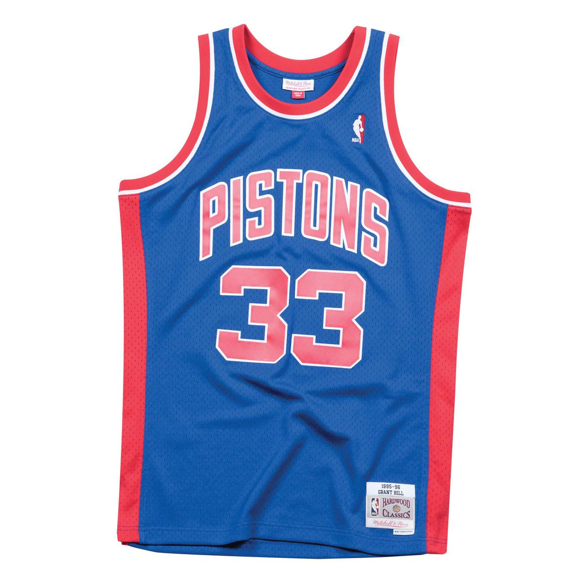 e7c9747a3 Grant Hill 1995-96 Detroit Pistons Jersey for  117 (usually  130) Mitchell    Ness