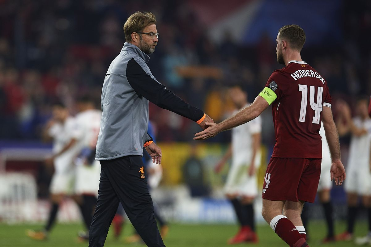 Liverpool boss Klopp explains why Henderson has the hardest job