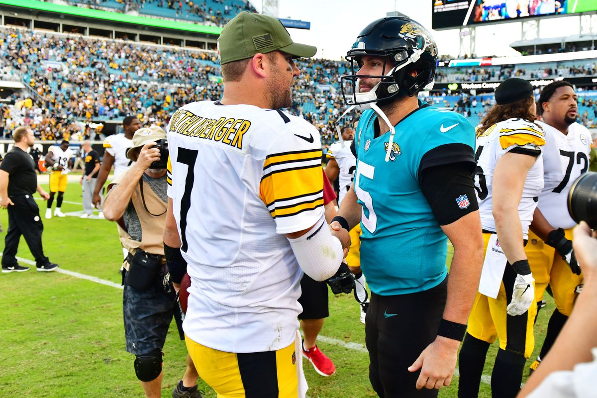 713240fc743 NFL Week 11 recap: The Steelers and Jaguars played the ugliest game ...