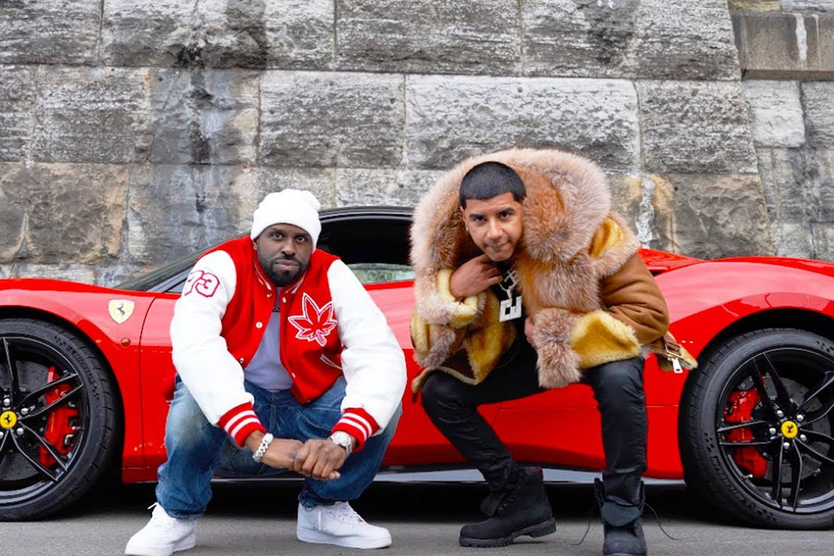 Funkmaster Flex and CJ