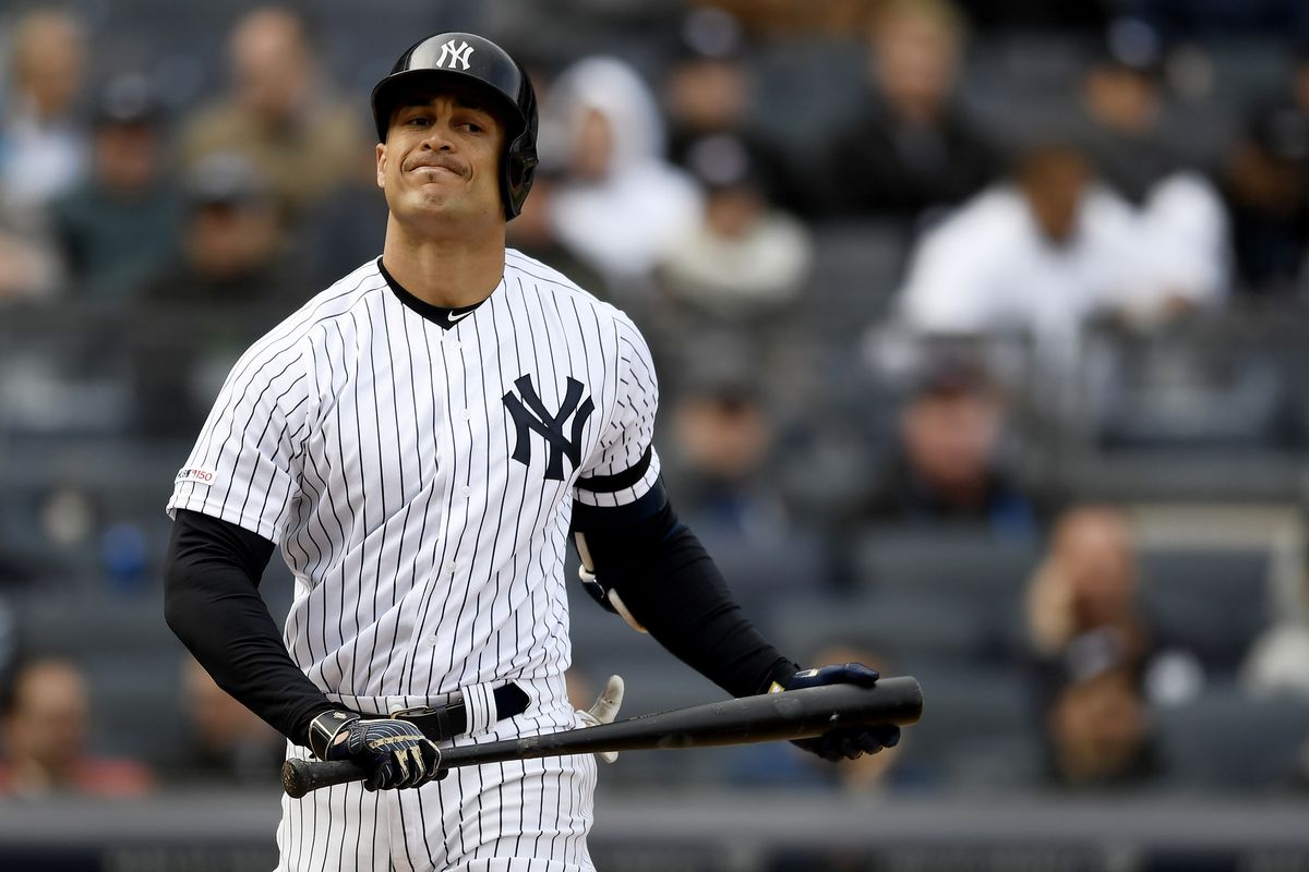 db0dad898 Yankees to place Giancarlo Stanton on injured list with PCL strain ...