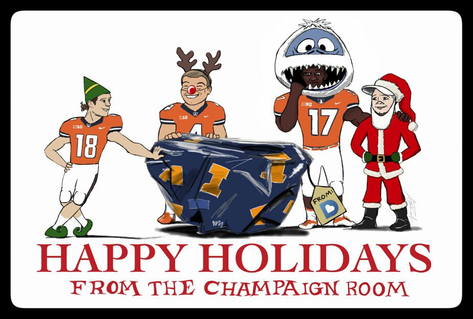 Happy Holidays from the Champaign Room