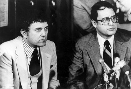 Eddie Einhorn (left) and Jerry Reinsdorf in 1981.