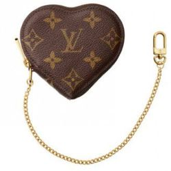 Louis Vuitton Bleu Infini Leopard PM Coeur ($490).