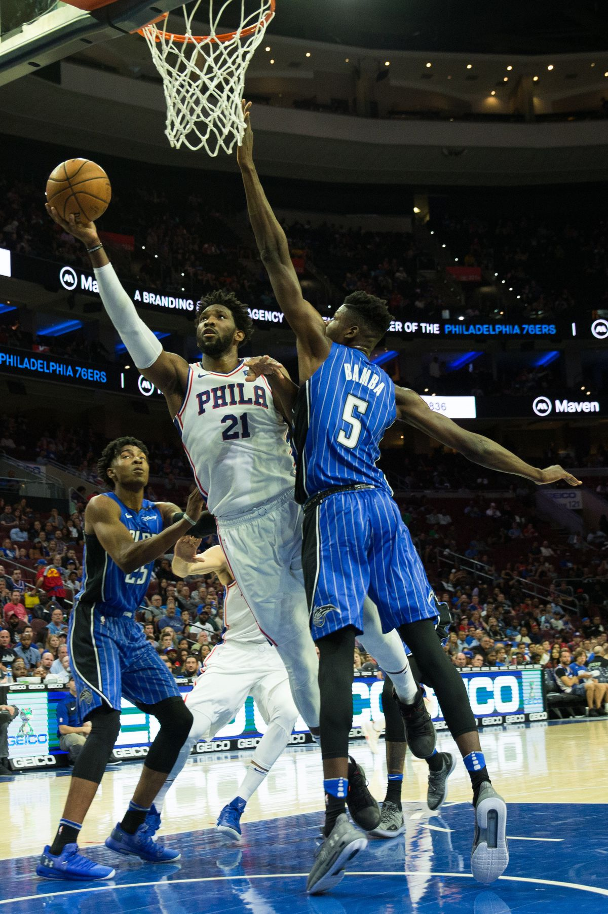 NBA: Preseason-Orlando Magic at Philadelphia 76ers
