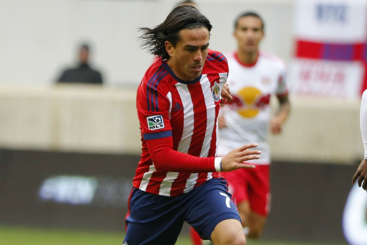 Mauro Rosales is a Designated Player for Chivas USA