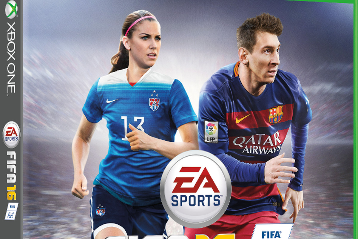 ce3bc74b6eb Alex Morgan the first woman on U.S. cover of EA Sports  FIFA series ...