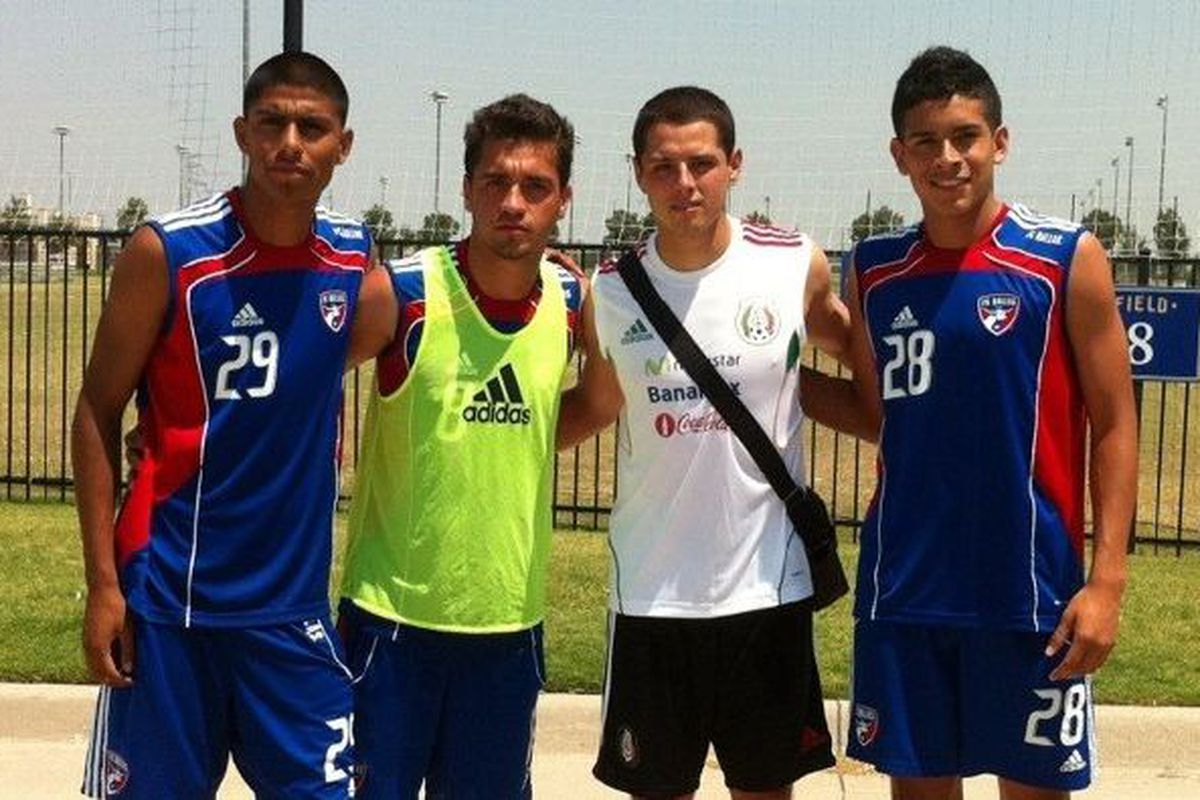 Chicarito and Mexico trained at PHP this week