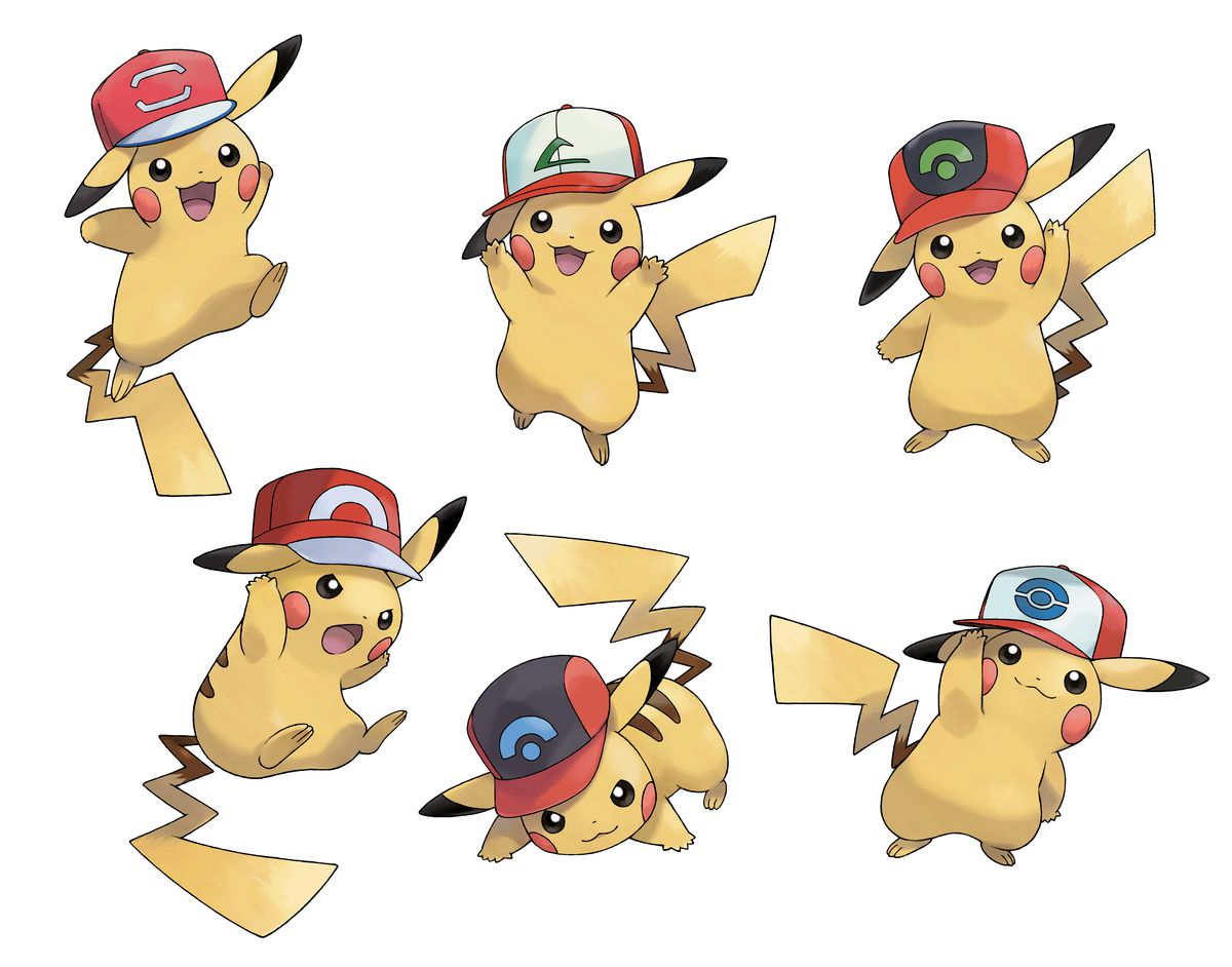 pikachu ash hat