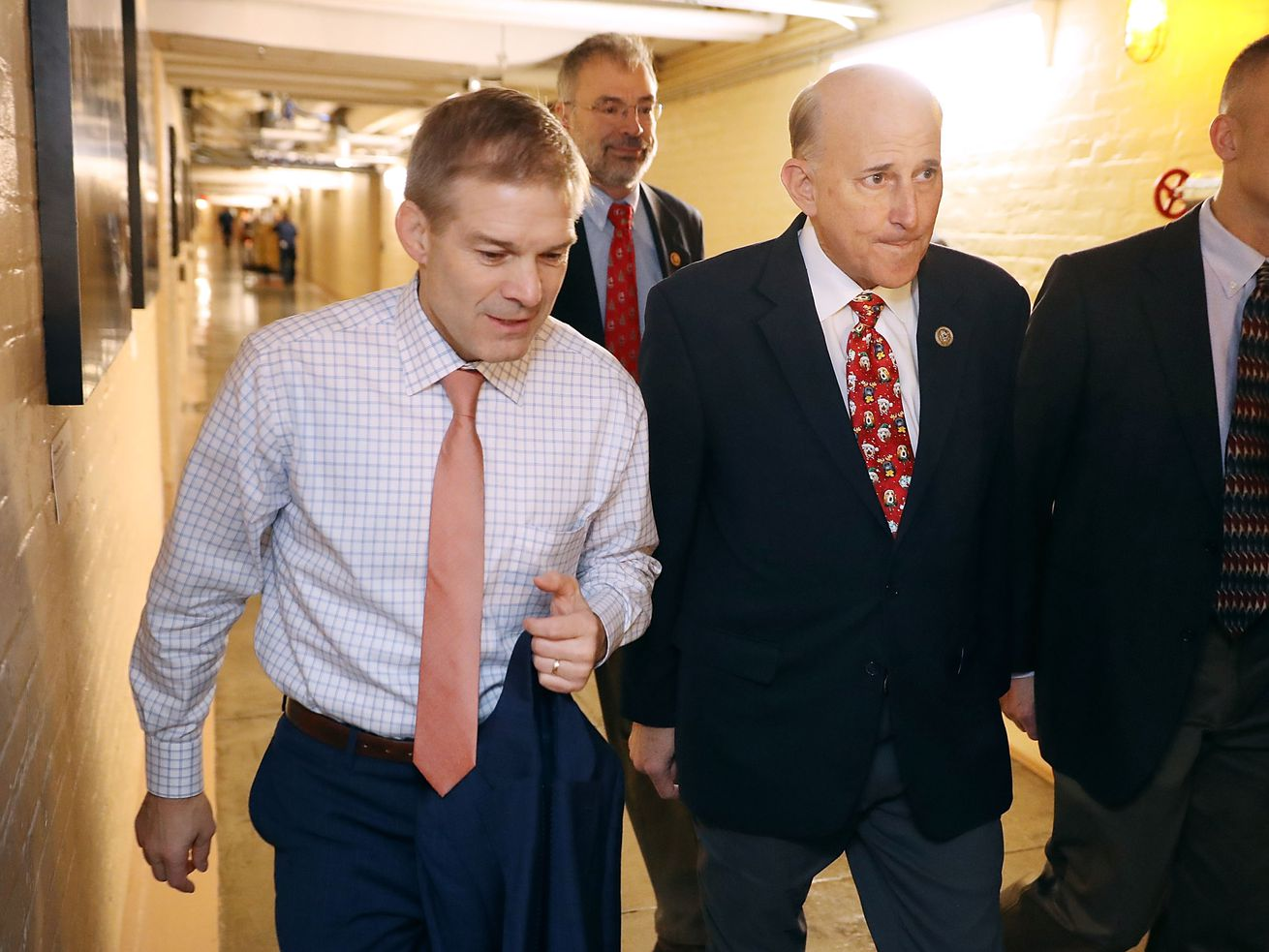Rep. Jim Jordan is being supported by his fellow members in the House Freedom Caucus.
