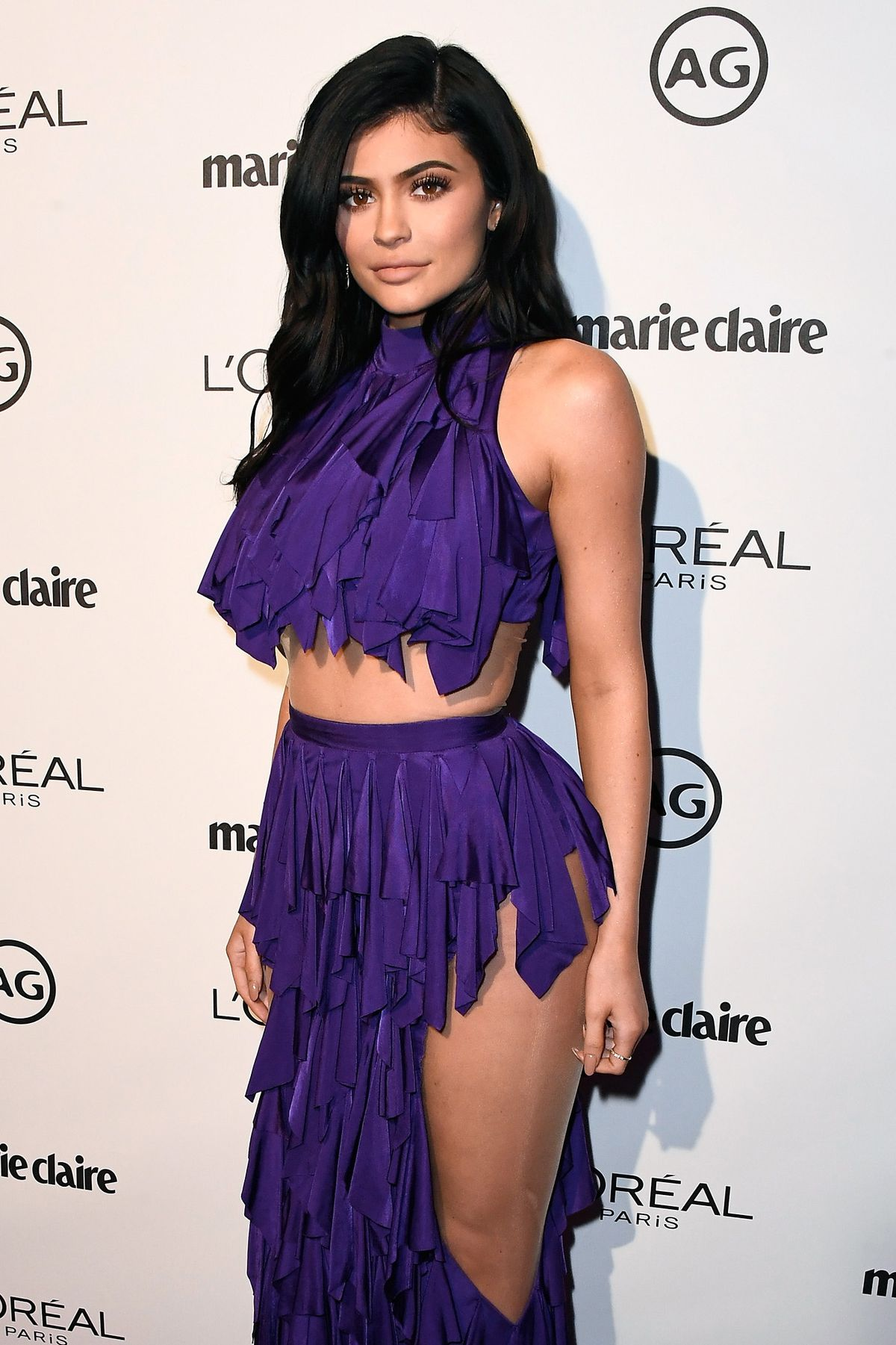 TV personality Kylie Jenner attends Marie Claire's Image Maker Awards 2017 at Catch LA on January 10, 2017 in West Hollywood, California.