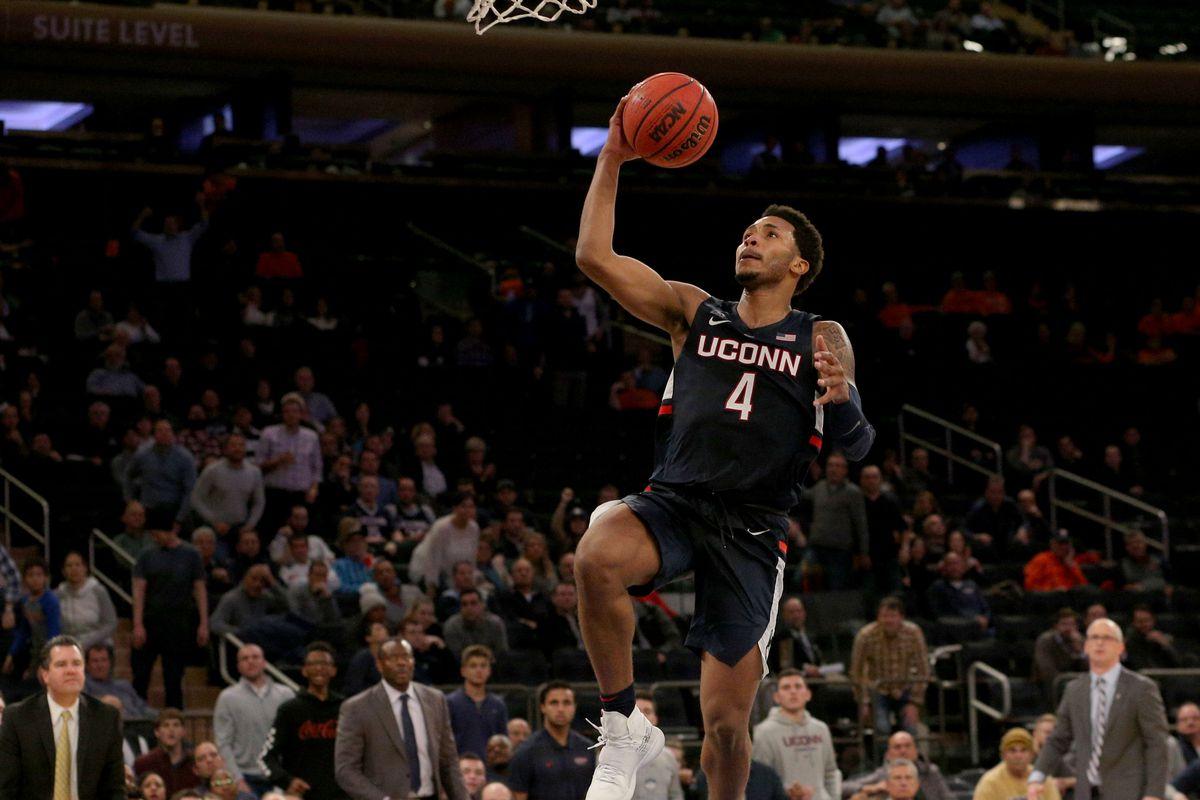 db81674f3ba UConn Men's Basketball Ends Regular Season With Win Over East ...