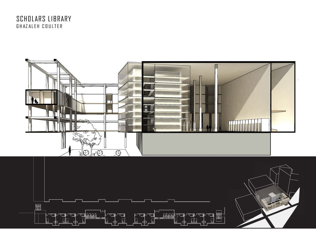A rendering of a design made by Tech students.