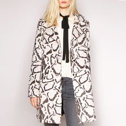 "<b>BB Dakota</b> Snow Leopard Peacoat in black/white, <a href=""http://www.pixiemarket.com/store/snowleopardpeacoat-p-5408.html"">$133</a> at Pixie Market"