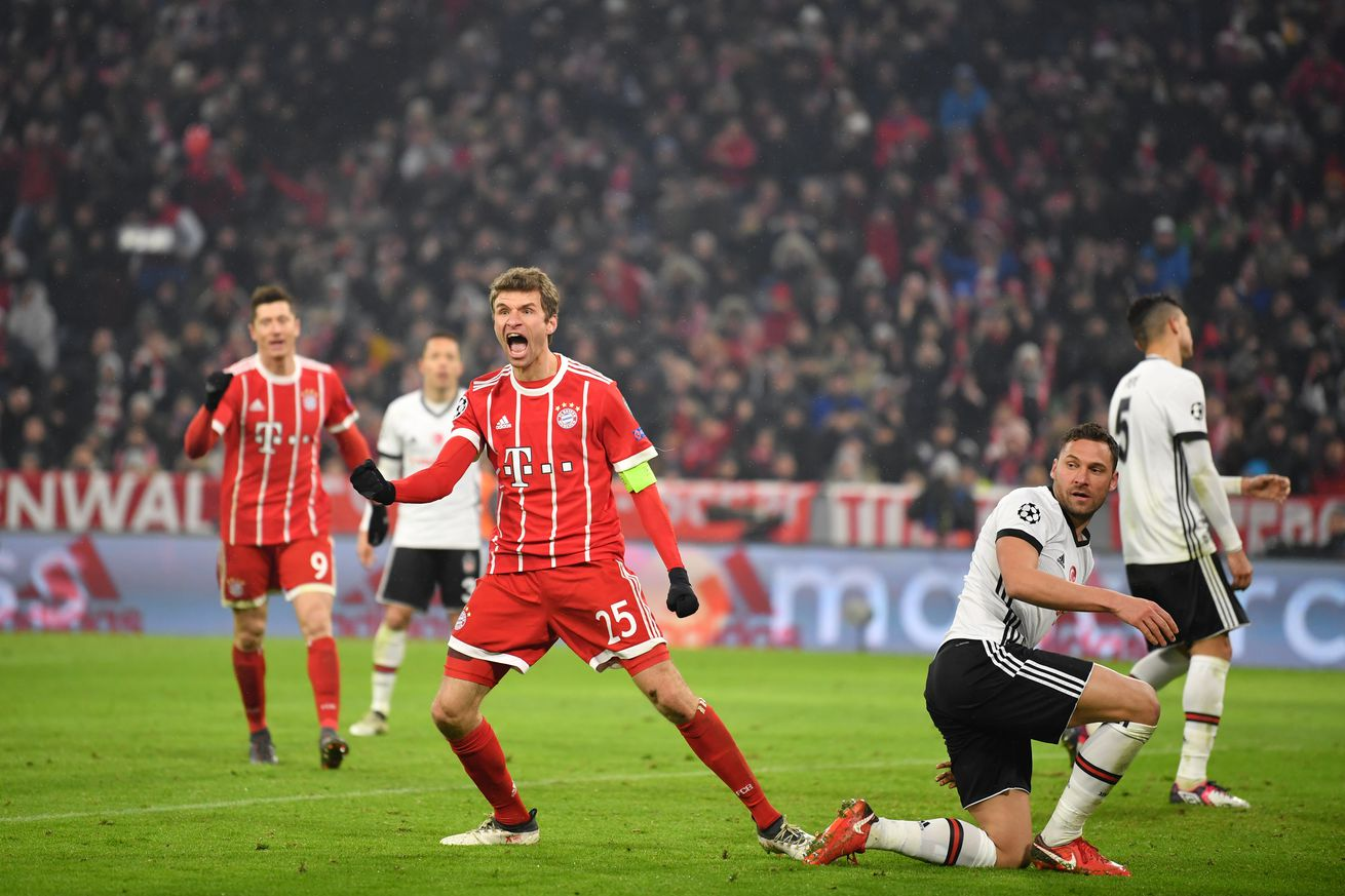 Besiktas vs Bayern Munich: Gamethread