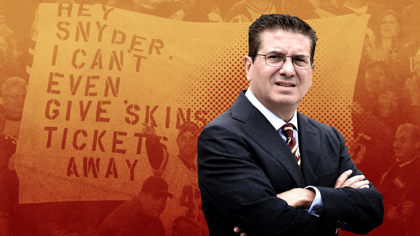 Dan Snyder and the Redskins Are Stuck in Their Own Personal Purgatory