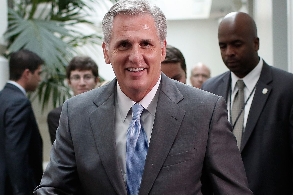 Kevin McCarthy, the new House Majority Leader.
