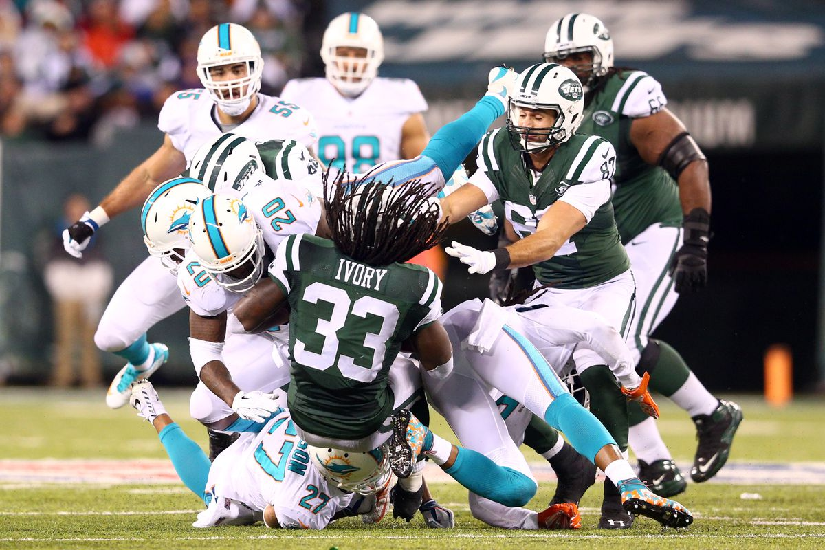 The Jets fell to the Dolphins in week 13.