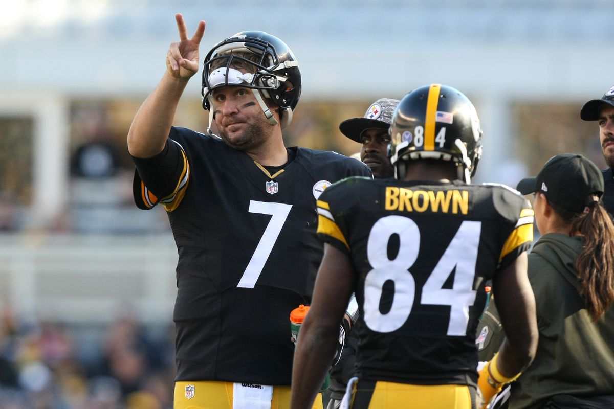 Watch Ben Roethlisberger and Antonio Brown picking up where they
