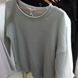 Achro cropped knit sweater, $55 (was $85)