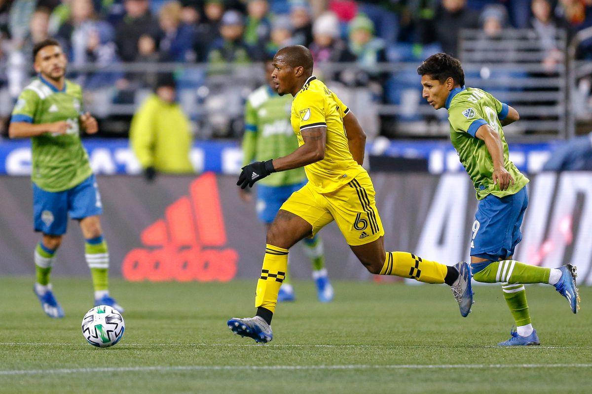 MLS: Columbus Crew SC at Seattle Sounders FC
