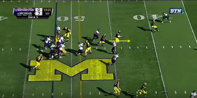 FF - Northwestern - Smith - 18-Yard Run - 5