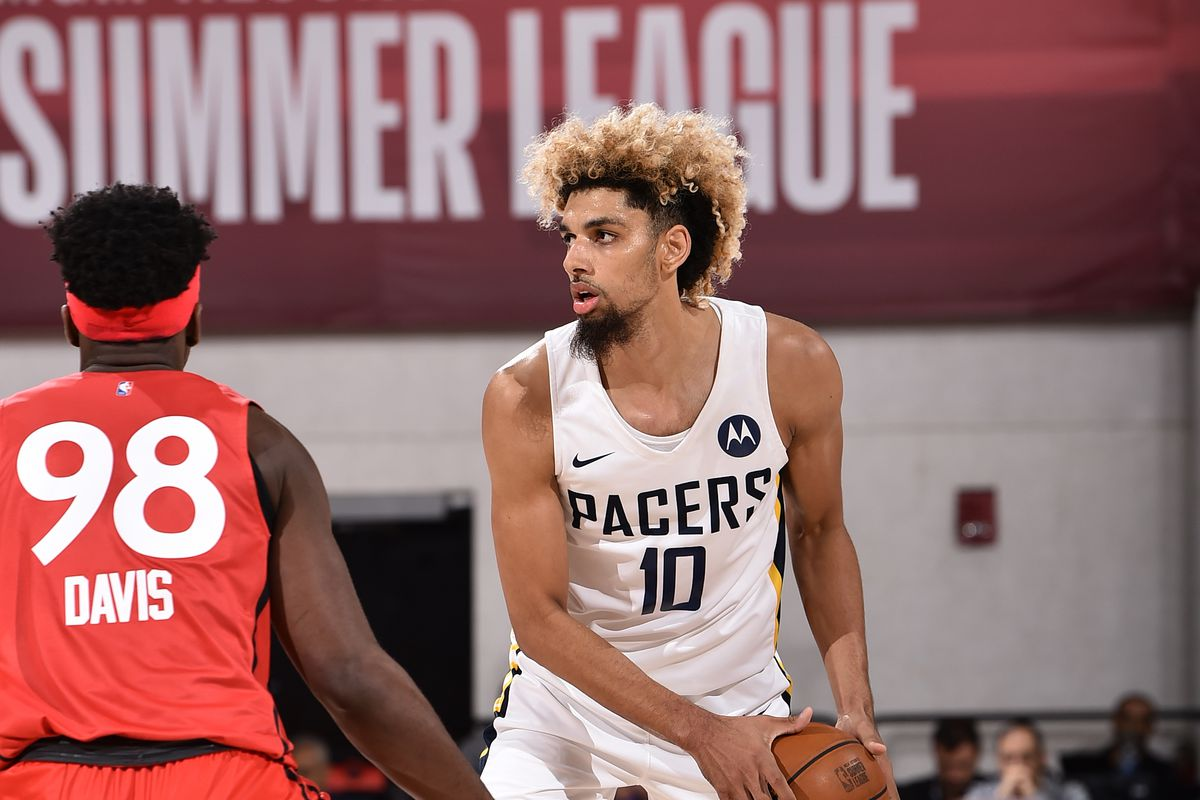 pretty nice 1c7be 948ff Summer League final score: Raptors slash Pacers 94-79 - Indy ...