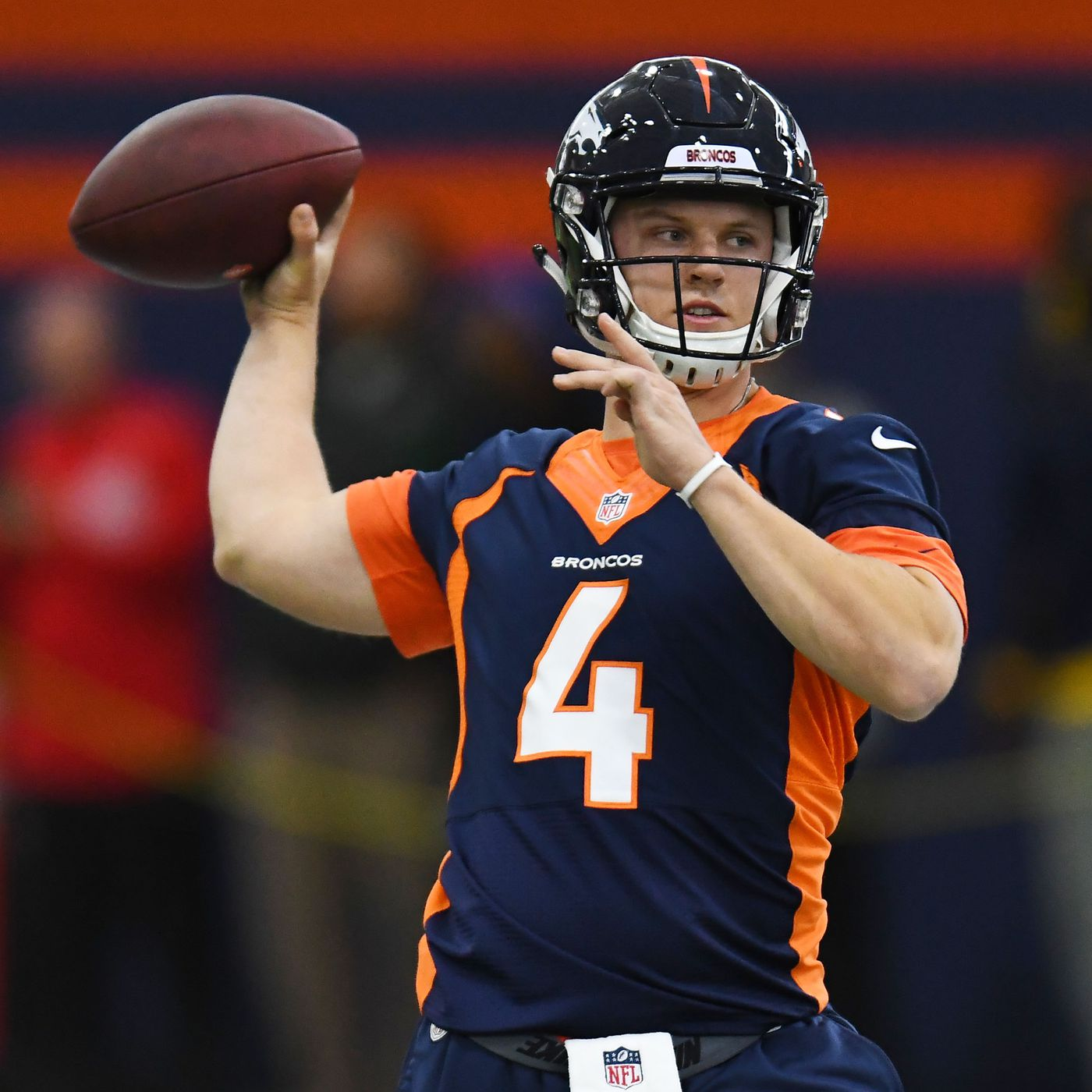 pretty nice 91541 1dbe9 What can the Denver Broncos expect from Brett Rypien? - Mile ...