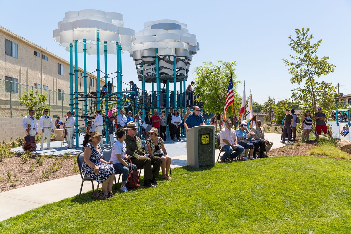 Opening Day At Bicentennial Park Photo By Erick Chavez