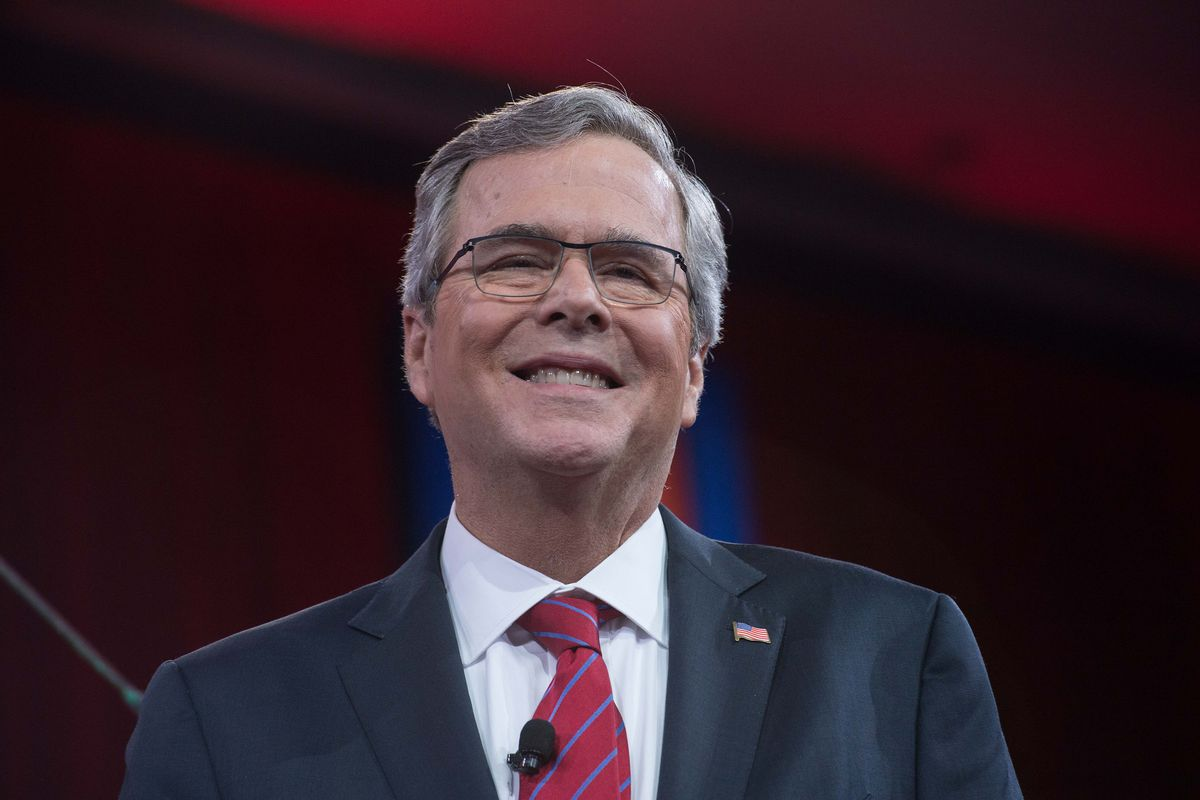 Jeb Bush, at CPAC in February 2015.