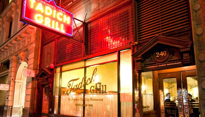 Open Since 1849 Tadich Grill Is A San Francisco Tradition Complete With Wood Fired That Outputs Satisfyingly Charred Steaks
