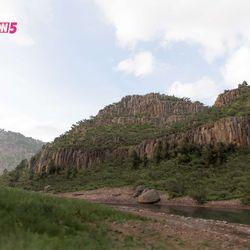 The Canyon biome.