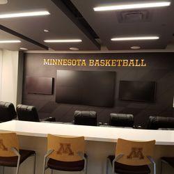 Basketball Team lounge