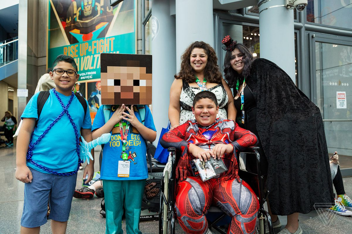 How costumers are using cosplay to overcome disabilities - The Verge